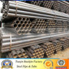 ASTM A53 Black Painted ERW Steel Pipe