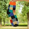 Men Socks Cotton Ankle Socks Striped Socks for Wholesale