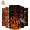 Heat Transfer Printed Hot Sell Custom Printing Elastic Tube Bandana for Outdoor Use