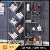 Home Furniture Steel Wine Display Rack and Bookshlef