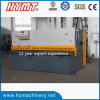 QC11y-8X2500 E21s Control Hydraulic Guillotine Shearing Machine, Steel Plate Cutting Machinery