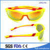 Latest Fluorescent Yellow Frame Polarized PC Lens Sunglasses