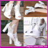 2015 Summer High Heel Shoes with Latest Dedsign with Embroidery for Women (D29082)