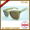 Bamboo and Wooden Frame Sunglasses (FX149)