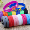 Manufacturer Cheap Price Custom Baby Debossed Basketball Sport Silicon Key Holder Wristband Crossfit Israel Religious Print Recycled Plain Silicone Bracelets