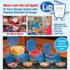 Plastic Storage Container, 10PCS Food Container Set