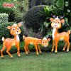 Factory Direct Selling Resin Deer Furnishings Garden Decoration