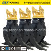 Strong Heavy Duty Hydraulic Rock Grapple for 30-40tons Excavator