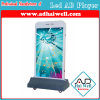 Outdoor P4 SMD RGB Full Color LED Free Standing TV Sign