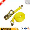 Ce Certificated Double J Hooks Cargo Lashing, Ratchet Lashing