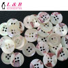 4-Holes White Sew Sea Shell Button
