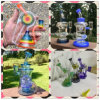 Shining Wonderful Design Glass Water Smoking Pipe with USA Color