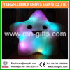Christmas Decorative Home Sofa Party Decor Toys Gift Plush Colorful Star Plush LED Cushion