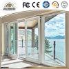 Factory Cheap Price Fiberglass Plastic UPVC Profile Frame Sliding Door with Grill Inside