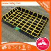 Best Outdoor Big Trampoline Rectangular Trampoline Bed with Factory Price