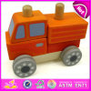 Wooden Assemble Car Toy for Kids, Top Sale Changable Car Wooden Creative Toys DIY Car W04A182