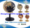 Yaye 18 Best Sell Zinc Alloy Stand 330mm/220mm/150mm/110mm/80mm Arch Single-Leg Gemstone Globes