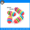 Colorful Teathing Healthy Chew Rubber Dog Toy