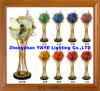 Yaye 18 Hot Sell Ce/RoHS Lighting Gemstone Globe / World Globe/ Gemstone Globe/ Home Decoration