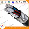 UL 1569 600V Aluminum Alloy Armored with Xhhw-2 Inners Mc Cable W/G, Aluminum Conductor Aluminum Mc Cable