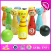 Top Grade Innovative Wooden Children Toy Mini Bowling Ball, Hot Sale Colorful 13PCS Wooden Mini Bowling Toy W01A125