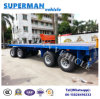 9m 4 Axle Flatbed Drawbar Pulling Dolly Full Semi Truck Trailer