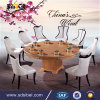 Modern Fashion Design Home Use Wood Round Dining Table and Chairs Dining Table Wood