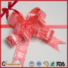 Luster Red POM-POM Pull Bow for Wedding Car