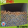 High Quality Orange/Blue/Silver/ Beige PE Tarpaulin Rolls for Saudi