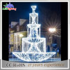 2015 New Holiday Light 3D Fountains Light LED Sculpture Light LED Christmas Motif Light