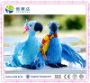 Plush Toy Blu and Jewel Parrot Bird Canary Plush Toys for Kids Gift Toys Standing High 28 Cm