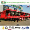 Shengrun Manufacturer Container Cargo Transport Truck Semi 40FT Flatbed Trailer