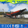 Julong Quality-Promised Gold Mining Trommel Screen Machine on Land