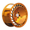 Golden Color Big Piece Alloy Wheel