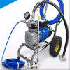 Cement Mortar Mud Fiberglass Resin Spray Machine with Mixer