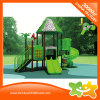 Little Plastic Plaground Equipment Plastic Slide Tree House for Children