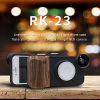 iPhone6/7/8 Case with LED Light /Fisheye Lens/Marco Lens/Wide Angle (RK23)