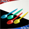 Jx122 Colorful Small Plastic Teaspoon Ice Cream Spoon 1.6g 125mm