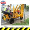 Hydraulic Highway Metal Guardrail Installation Machine