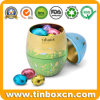 Easter Egg Metal Tins for Chocolate Candy Gift Packaging Box