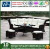 PE Rattan Wicker Sofa Table Set Outdoor Furniture