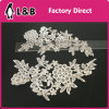 Shoulder Polyester Flower Lace Applique