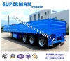 China 40cbm Stake Bulk Transport Semi Trailer