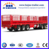 3 Axles Store House Bar Type/Fence/Stake Cargo Semi Trailers