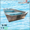 16FT Aluminum Fishing Boat with V Shape Bottom