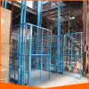 Hydraulic Vertical Guide Rail Warehouse Material Lift Platform for Sale