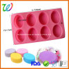 Factory Wholesale Homemade Craft Oval Silicone Soap Mold