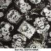Cool Skull Black White Aqua Printing Films Hydro Dipping for Car Stickers S38ya1096A