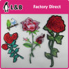 Iron on 3D Embroidery Rose Flower Patches