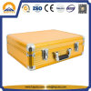 Yellow Aluminum Carry Barber Case (HB-6331)